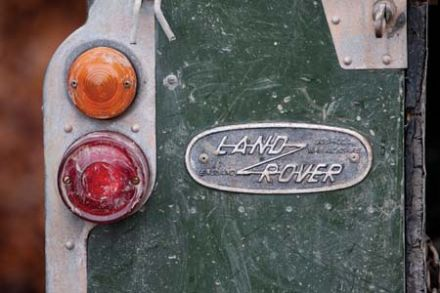 CSP Greeting Cards 'Land Rover'